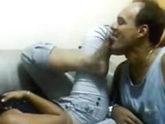 Bawdy Feet kiss