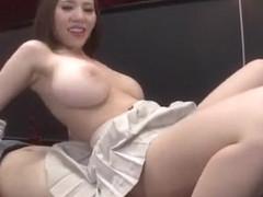 Best Japanese girl Ruri Saijou in Incredible Upskirts/Panchira JAV video