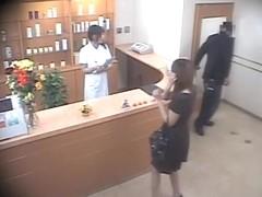 Perfect Jap crammed in kinky hidden cam massage sex video