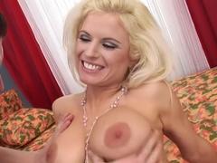 Best pornstar Victoria Rush in fabulous hairy, deep throat porn clip
