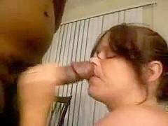I film my wife sucking black cock