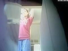 Hidden livecam in the washroom