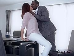 Elegant Divorcee Chanel Preston Sucks Black Cock