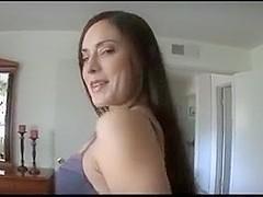 POV Brunette Cocksucker