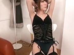 Horny Japanese slut in Best Threesome, Blowjob JAV movie