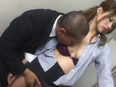 Amazing Japanese whore in Crazy Office JAV video