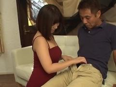 Exotic Japanese slut Wakaba Onoue in Horny JAV uncensored Blowjob clip