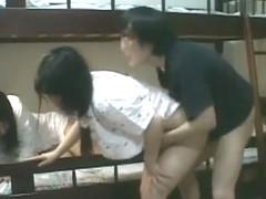 Hottest Japanese whore Haruki Sato in Incredible Doggy Style, Fingering JAV movie