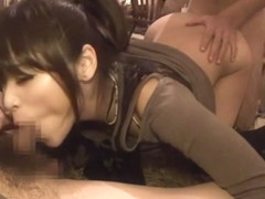 Amazing Japanese model Mao Yonekura, Yuri Konishi, Alisa Araki, Shiori Akimoto in Exotic group sex.