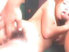 Crazy Japanese girl Karen Kisaragi in Amazing Fingering, Small Tits JAV scene