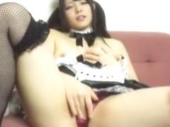 Fabulous Japanese slut Ai Uehara in Crazy Masturbation/Onanii, Stockings/Pansuto JAV movie