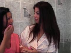 Amazing pornstars in Fabulous Lesbian, European porn clip