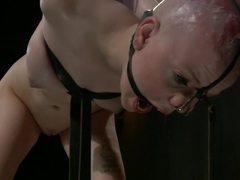 Alani Pi - Head Shaved Slut Live Show - Part 3