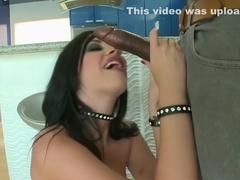 Incredible pornstars Jenna Haze and Andy San Dimas in hottest blowjob, facial sex video
