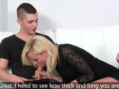 Exotic pornstar in Crazy Casting, MILF porn clip