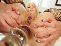 Horny pornstars Holly Hanna, Chad White in Crazy Pornstars, Blonde sex scene