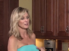 Hottest pornstar Jodi West in incredible cunnilingus, blonde xxx scene