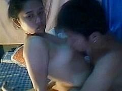 FILIPINA BOY LICKING HIS GIRLFRIENDS CUM-HOLE ON WEB CAMERA