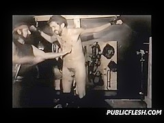 Vintage Gay Extreme Whipping