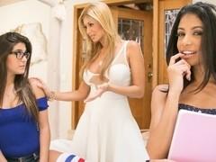 Veronica Rodriguez & Lisa Daniels & Natalie Monroe in The Bad Child Video