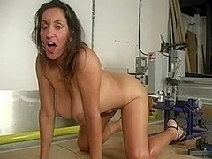 Hot Mature And Machine