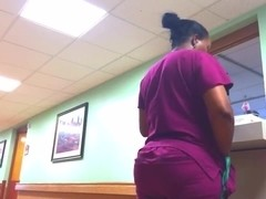 NURSE WITH A ROUND PLUMP ASS!!!!