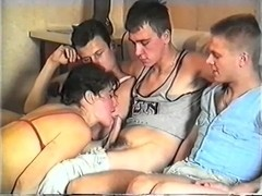 Incredible Homemade clip with Cunnilingus, Russian scenes