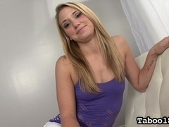 Shelby Paige Blackmails Stepdad for Dick
