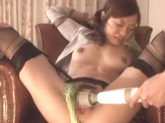 Crazy Japanese girl Reina Yoshii in Fabulous DP/Futa-ana, Facial JAV video