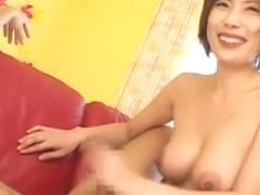 Crazy Japanese chick Mirei Yokoyama in Fabulous Big Tits, DP/Futa-ana JAV video