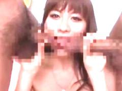 Exotic Japanese model in Crazy Facial, Blowjob/Fera JAV video