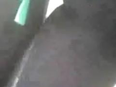 en calza y sin bombacha por la estacion ramos mejia