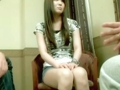Tall Jap dicked and creamed during Asian hardcore sex s.ance