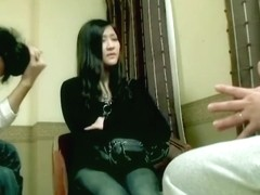 Loud Japanese slut moans during Asian hardcore banging