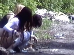 Girls Pissing voyeur video 17
