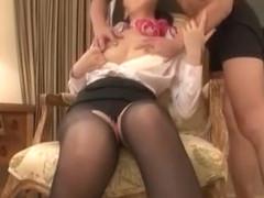 Fabulous Japanese chick Aoki Misora in Hottest Cunnilingus JAV movie