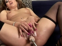 Incredible pornstar Leanna Sweet in Best Lesbian, Stockings xxx clip
