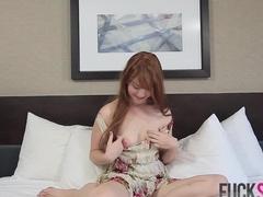 Gwen Stark in Shy Redhead Does Porn