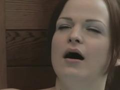 Crazy pornstar Janessa Jordan in best brunette, masturbation porn clip