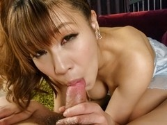 Hottest Japanese chick Natsuki Shino in Fabulous JAV uncensored Cumshots scene