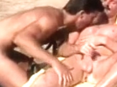 Horny male in incredible hunks, sports gay porn scene