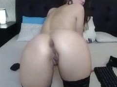 Cute webcam babe fingering