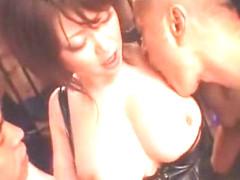 Hottest Japanese whore Rio Hamasaki in Exotic Handjobs, Cumshots JAV scene