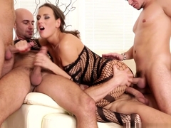 Hottest pornstar in Fabulous Cumshots, Gangbang porn clip