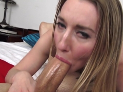 Horny pornstar Riley Reynolds in Incredible Blonde, POV xxx movie