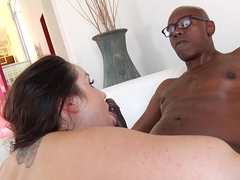 Crazy pornstars Lola Foxx, Sean Michaels in Incredible Big Ass, Interracial porn movie