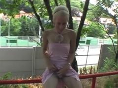 Best pornstar in exotic blonde, college sex movie