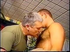 Hirsute homosexual soldier Scott
