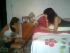 Latina tapes her best friend fucking her bf with her cellphone