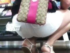 Candid Sexy Teen Feet & Legs at WalMart